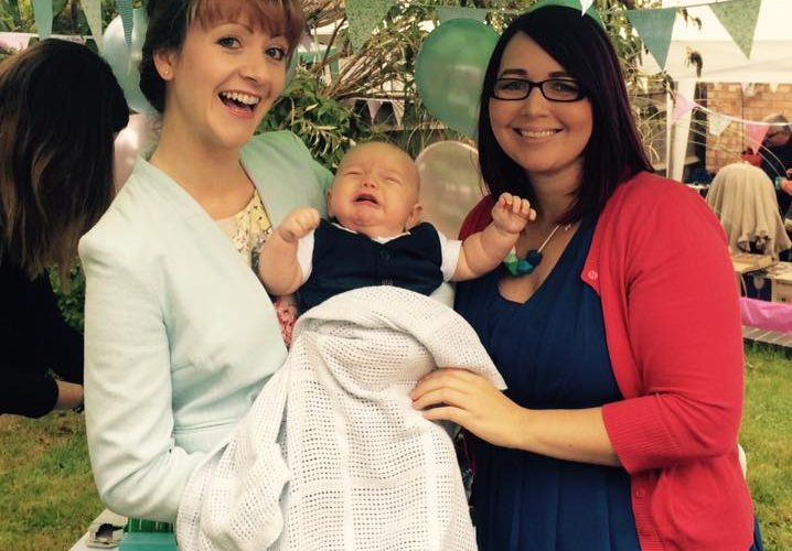 Samantha Kelsie celebrant for Baby Blessing or Baby Naming Ceremony