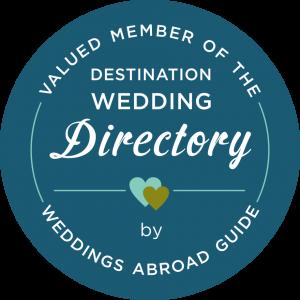 Weddings Abroad Guide Destination Wedding Directory Member