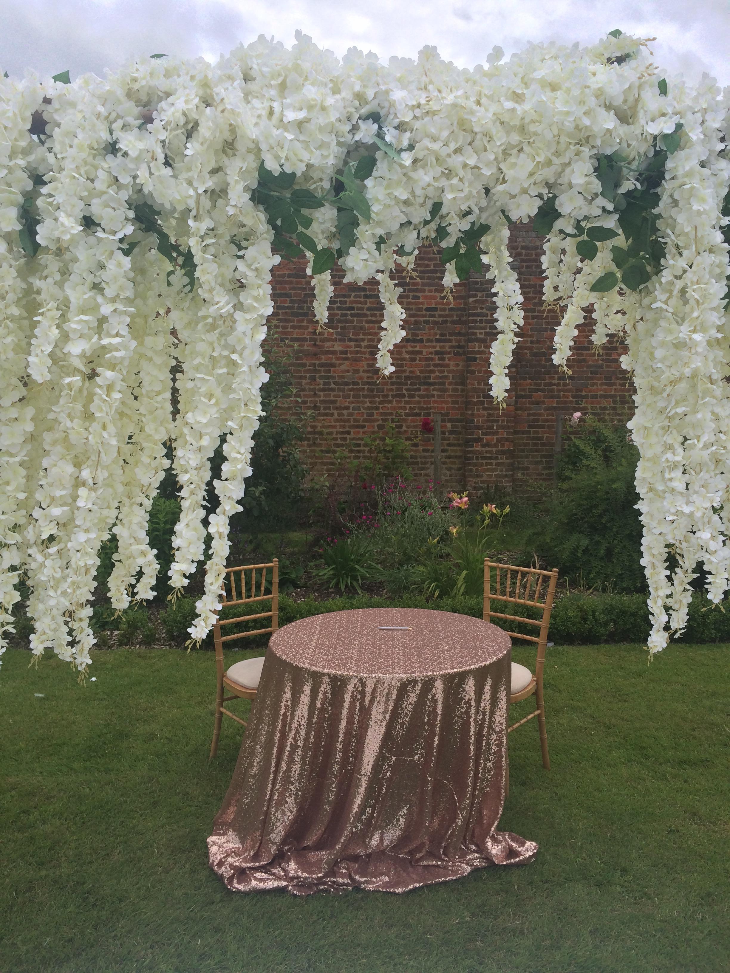 Samantha Kelsie celebrant wedding ceremony luton hoo walled gardens