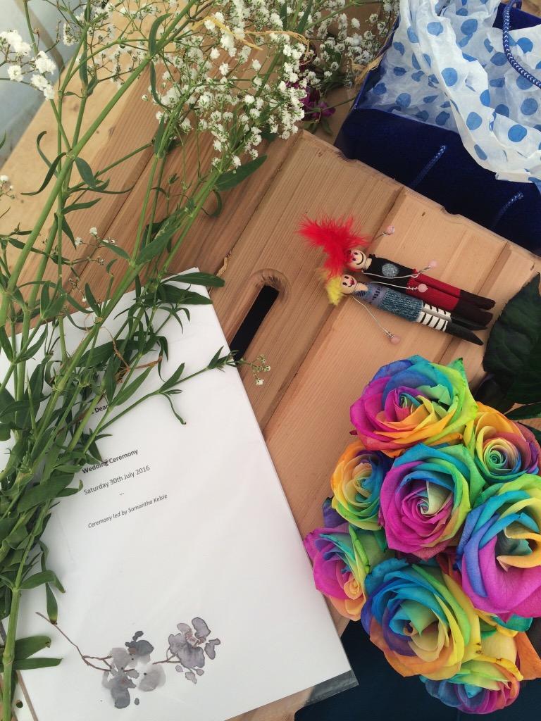 Samantha Kelsie alternative wedding celebrant steampunk festival wedding