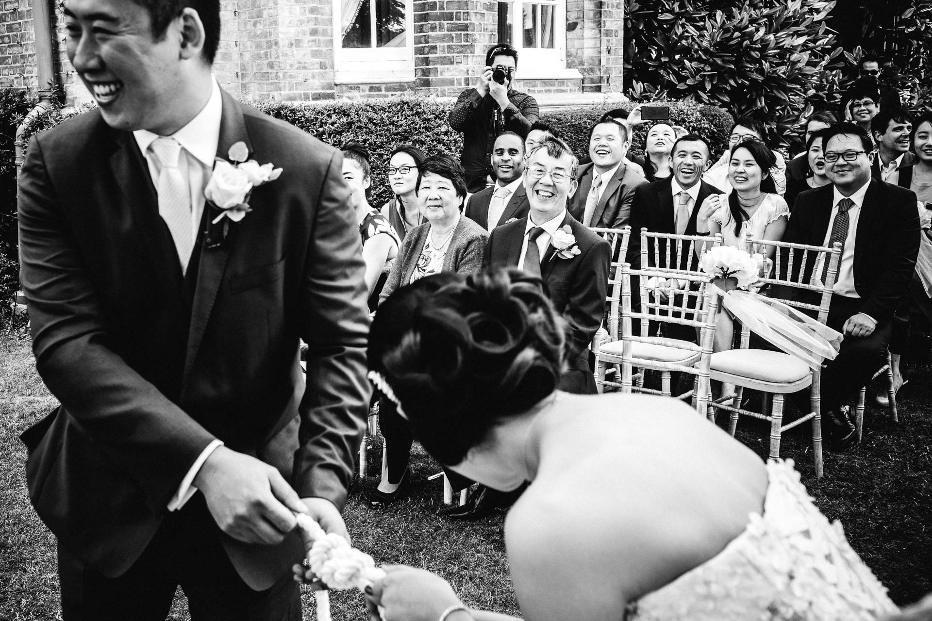 Samantha Kelsie UK Celebrant wedding ceremony Hedsor house Buckinghamshire symbolic Liam Collard photography