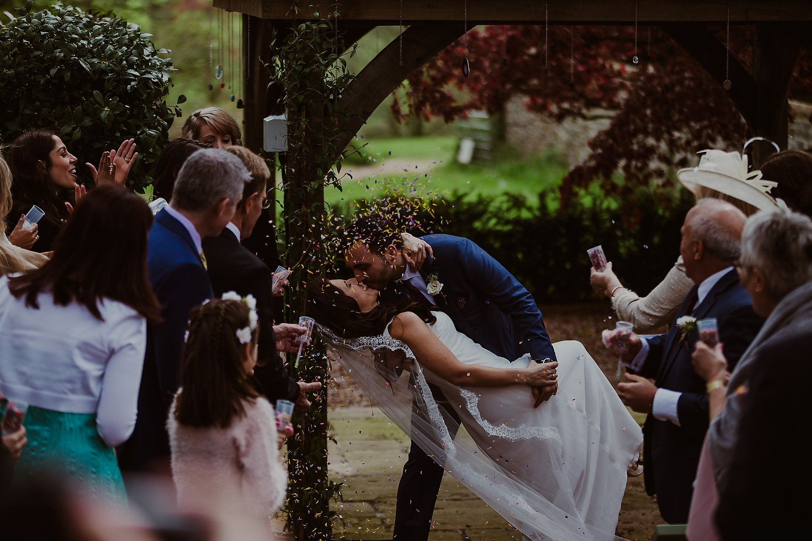 Samantha Kelsie UK Celebrant Wedding Ceremony outdoor wedding blessing Huntsham Court Bears Collective
