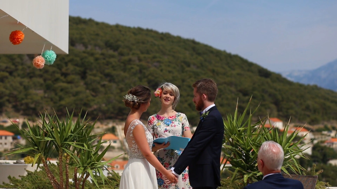 English speaking europe destination wedding celebrant ceremony blessing abroad