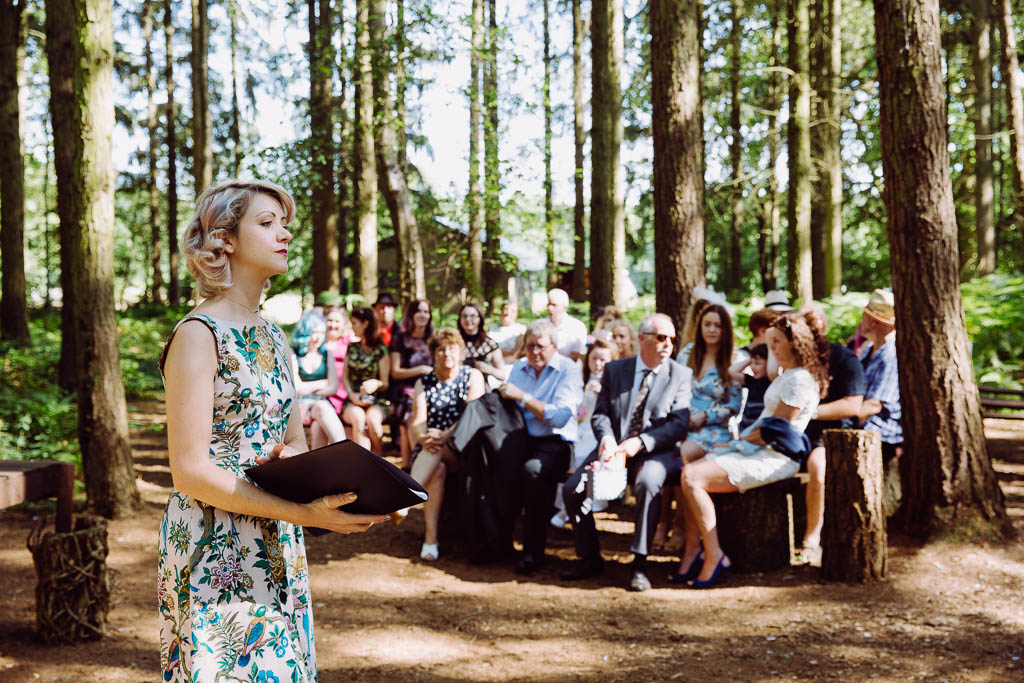 Wedding Celebrant at Camp Katur marriage blessing celebrant for London Buckinghamshire