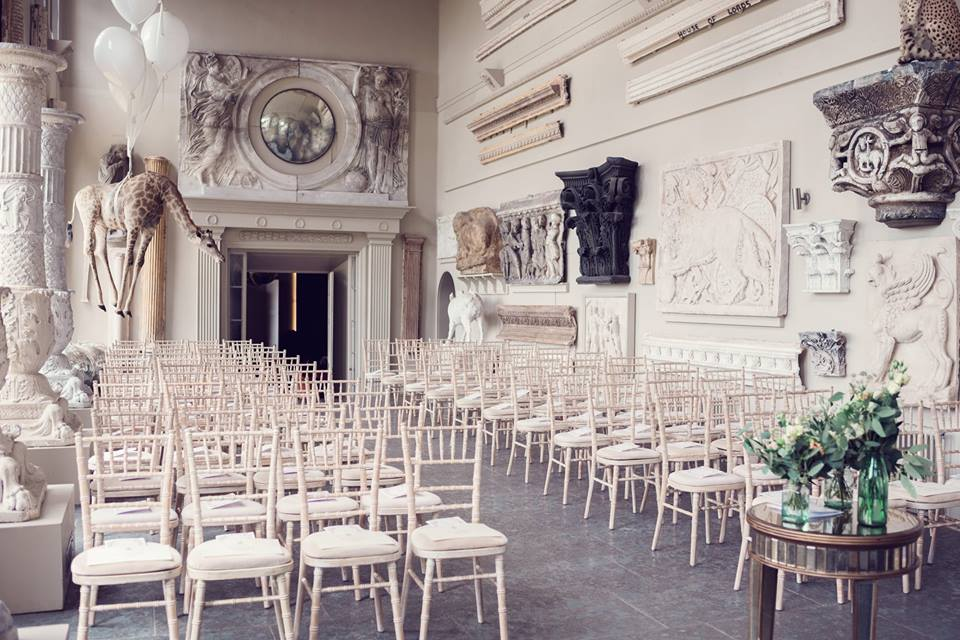 Celebrant for Wedding Ceremony at Aynhoe House - unique venue - Jessica Raphael Photography