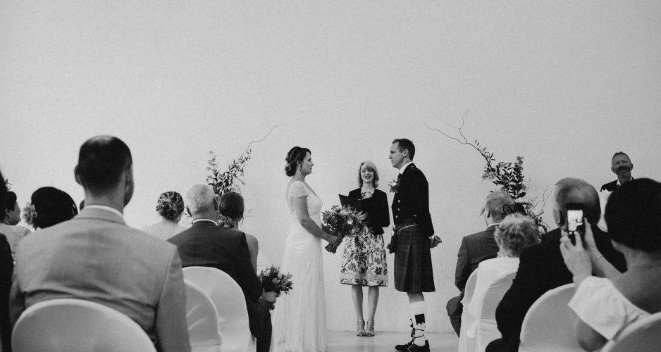 Celebrant for wedding in Sheffield General Cemetery Samuel Worth Chapel