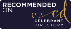 recommended supplier on the celebrant directory